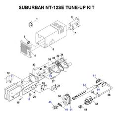 Suburban Furnace Model NT-12SE Tune-Up Kit
