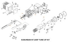 Suburban Furnace Model NT-24SP Tune-Up Kit