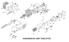 Suburban Furnace Model NT-34SP Tune-Up Kit