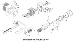 Suburban Furnace Model NT-40 Tune-Up Kit