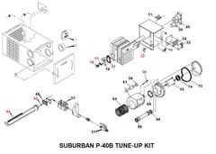 Suburban Furnace Model P-40B Tune-Up Kit