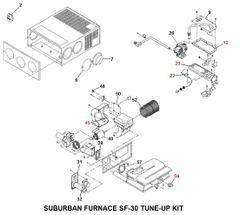 Suburban Furnace Model SF-30 Tune-Up Kit