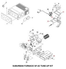 Suburban Furnace Model SF-42 Tune-Up Kit