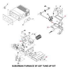 Suburban Furnace Model SF-42F Tune-Up Kit