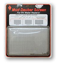 JCJ W-100 Mud Dauber Screen for Atwood Water Heaters