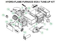 Atwood / HydroFlame Furnace Model 8520-I Tune-Up Kit