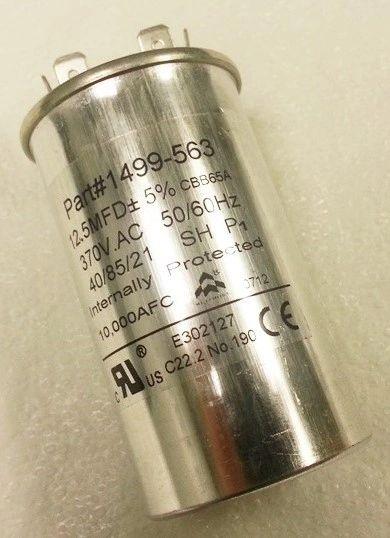 Coleman Fan Capacitor 1499-5631