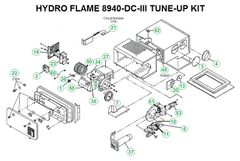 Atwood / HydroFlame Furnace Model 8940-DC-III Tune-Up Kit