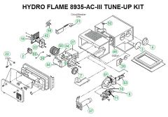 Atwood / HydroFlame Furnace Model 8935-AC-III Tune-Up Kit