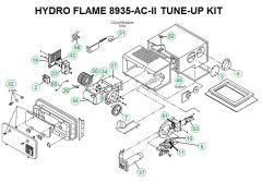 Atwood / HydroFlame Furnace Model 8935-AC-II Tune-Up Kit