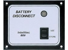 Intellitec Battery Disconnect Panel, BD0, 01-00066-004