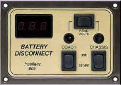 Intellitec Battery Disconnect Panel, BD3, 01-00066-003