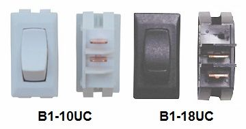 12 VDC Interior Switch, On / Off