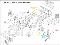 Atwood / HydroFlame Furnace Model 8520-III Tune-Up Kit