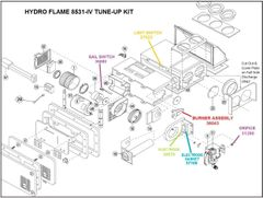 Atwood / HydroFlame Furnace Model 8531-IV Tune-Up Kit