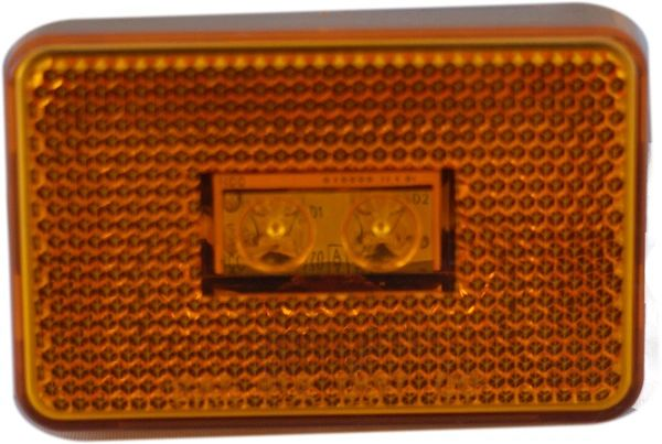 LED Marker Light, Amber 2 Diode, L14-0071A