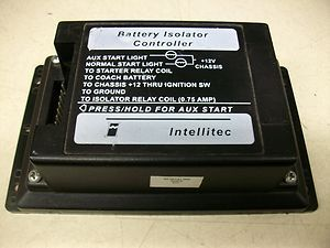 Intellitec Battery Isolator Controller 00-00131-000