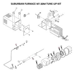 Suburban Furnace Model NT-30M Tune-Up Kit