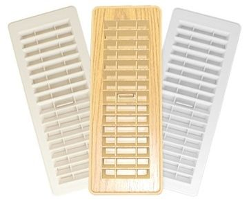 Ceiling Vent, 4 x 10, Off White