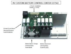 Battery Control Center, by RV Custom Products 137542