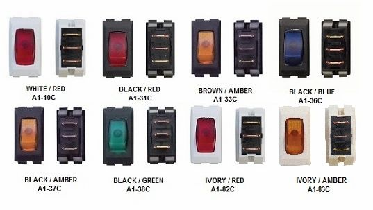 12 VDC Illuminated Switch, On / Off