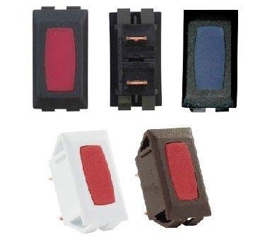 12 Volt Indicator, Black / Brown / White