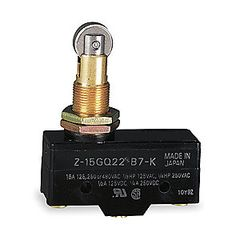 Roller Plunger Switch Z-15GQ22-B7-K