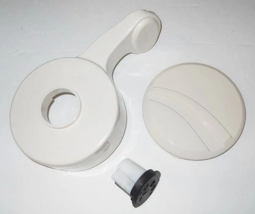 SeaLand Toilet Flush Pedal With Spring Cartridge Kit 385311122