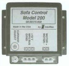 Intellitec Sofa Controller, Model 200, 00-00375-000
