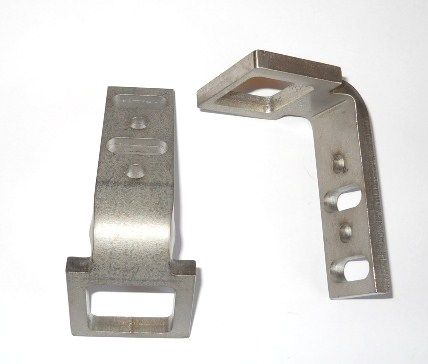 Bay Door Stainless Steel Strike Plate 91940