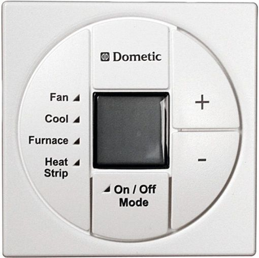 Dometic Single Zone Lcd Thermostat  Cool  Furnace  Heat Strip  3313189 049