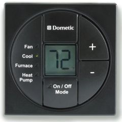 Dometic Single Zone LCD Thermostat, Cool/Furnace/Heat Pump, 3313189.072