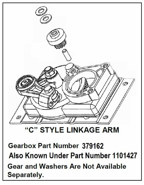 Lippert Step Gearbox / Linkage Kit 379162