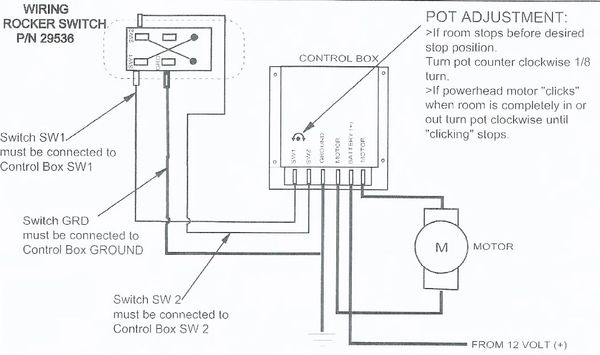 [DIAGRAM_1JK]  Barker Slide Out Switch 29536 | pdxrvwholesale | Slide Out Switch Wiring Diagram |  | PDX RV LLC