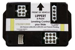 Lippert 4 Point Leveling Control Plus Slide Module 175226/12656