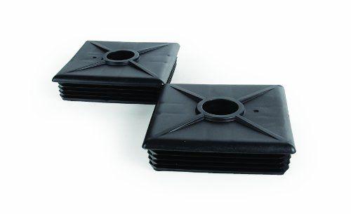 Camco RV Rubber Bumper Plug / Cap, 2 Pack, 40303