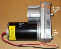 Barker Slide Out Power Head Drive Assembly, 55:1 Version, 26690