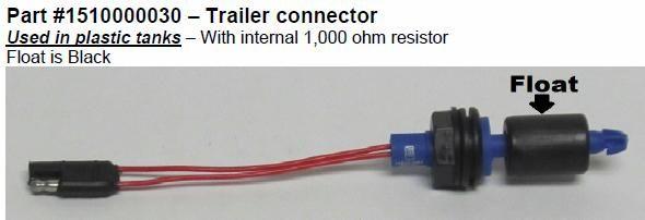 Power Gear Horizontal Float Switch 1510000030
