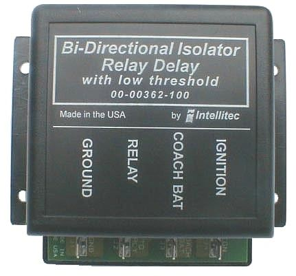 Intellitec Bi-Directional Isolator Relay Delay w/ Low Threshold 00-00362-100