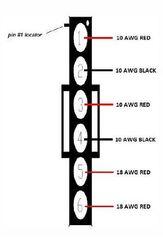Power Gear Slide Out Controller Harness, 14-1125