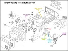 Atwood / HydroFlame Furnace Model 8531-III Tune-Up Kit