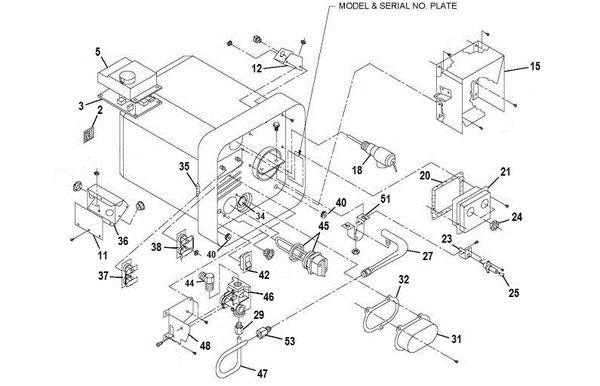 Suburban Water Heater Model SW16DE Tune-Up Kit