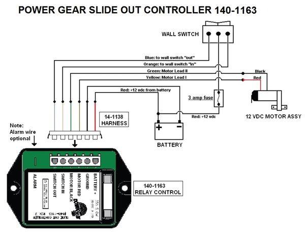 Slide Out Motor Wiring - Schematics Online on