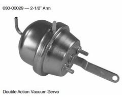 Double Action Vacuum Servo With 2-1/2 Inch Arm 030-00029