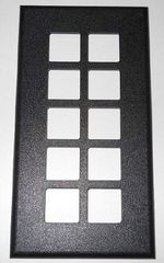 Intellitec 10 button Black Switch Cover 64-00272-000
