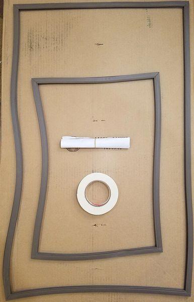 Dometic Refrigerator Door Gasket Kit 3108700.018