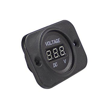 WirthCo DC Digital Voltage Meter 20600