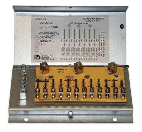 Parallax 12 Circuit Fuse Box FB12