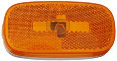Incandescent Marker Light Lens, Amber, L04-0059A-LENS