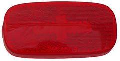 Incandescent Marker Light Lens, Red, L04-0059R-LENS